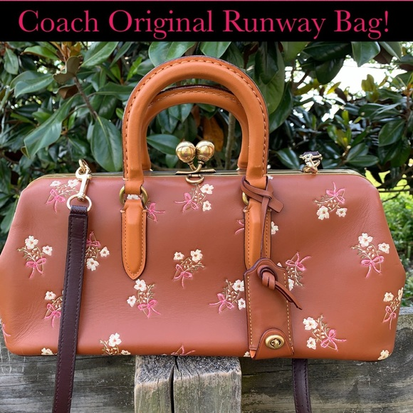 Coach Handbags - Coach Kisslock 1941 Prototype Runway Original Bag